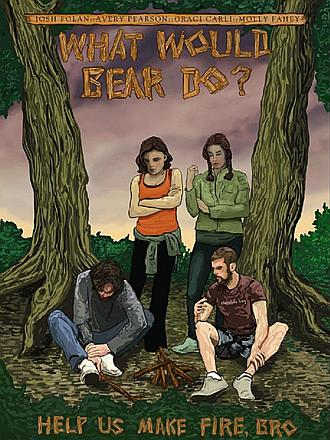 熊会怎么办?